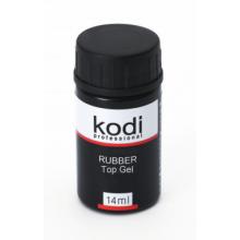 Закрепитель (каучуковое верхнее покрытие) для гель-лаков без кисточки Kodi (Rubber Top) 14 мл.