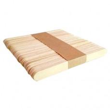 шпатель деревянный для депиляции 150х18мм, 50шт.