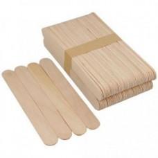 шпатель деревянный для депиляции 150х18мм, 100шт.