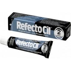 Краска для бровей и ресниц, иссиня черный, RefectoCil №2