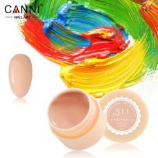 Гель-краска Canni 511 пастельно оранжевая