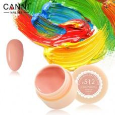 Гель-краска Canni 512 розово карамельная