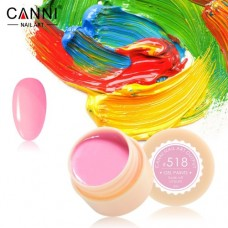 Гель-краска Canni 518 яркая розовая