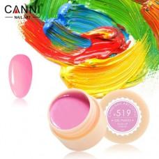 Гель-краска Canni 519 тёмно розовая