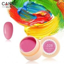 Гель-краска Canni 528 ярко розовая