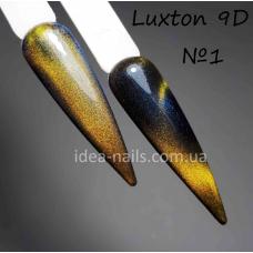Гель лак кошачий глаз 9D Luxton № 1, 10мл