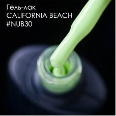 Гель лак NUB №030 CALIFORNIA BEACH 8мл