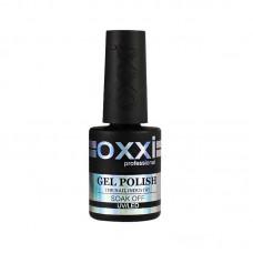 Закрепитель для гель лака с липким слоем OXXI Top coat 10 мл.