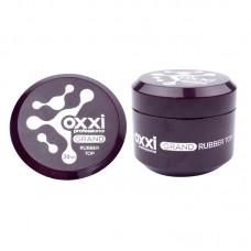 Топ каучуковый для гель лака с липким слоем OXXI Top coat 30 мл.