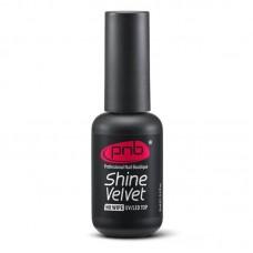 Матовый закрепитель без липкого слоя с микрошиммером Shine Velvet Top, PNB 8мл