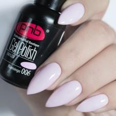 Гель-лак PNB розовая эмаль 8 мл Flamingo 006