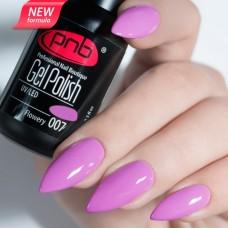 Гель-лак PNB сиренево розовый эмаль 8 мл Flowery 007
