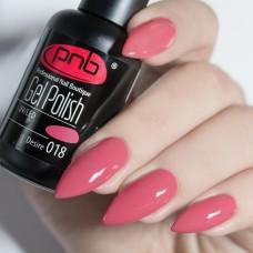 Гель-лак PNB чайная роза 8 мл Desire 018