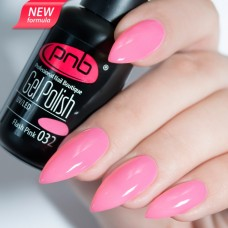 Гель-лак PNB розовая эмаль 8 мл Flash Pink 032