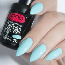 Гель-лак PNB светло голубой 8 мл Light Breeze 035