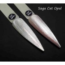 Гель лак кошачий глаз опал Cat Opal SAGA, 8мл