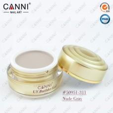 Камуфлирующий гель для наращивания CANNI нюдовый кофе с молоком 311