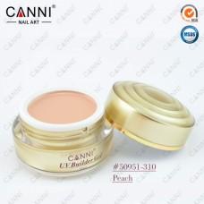 Камуфлирующий гель для наращивания CANNI персик 310