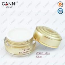 Конструирующий гель для ногтей CANNI белый 314