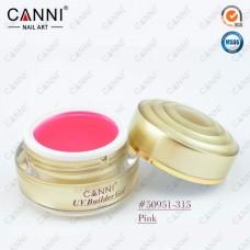 Конструирующий гель для ногтей CANNI розовый 315