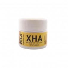 Хна для бровей и биотату коричневая Nila, 10 грамм