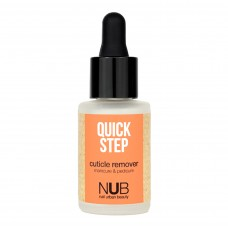 Средство для удаления кутикулы NUB QUICK STEP CUTICLE REMOVER 30мл.