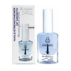 Усилитель роста ногтей Nails Strengthener of Growth DB cosmetic 00608, 10ml