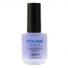 """Укрепитель """"Крепкие ногти"""" Naomi Strong Nails 15мл."""