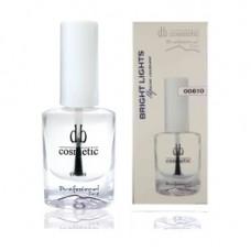 Закрепитель лака с эффектом мокрых ногтей BRIGHT LIGHTS DB cosmetic 00610, 10ml