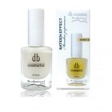 Матовый закрепитель для ногтей SATEEN EFFECT DB cosmetic 00613, 10ml