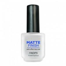 Матовое покрытие Matte Finish Naomi, 15ml