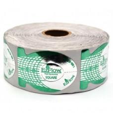 Формы для наращивания ногтей EzFlow зеленые 500шт.