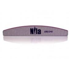 Пилка для натуральных ногтей Half 180/240 Nila