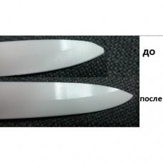 Устранение дефекта керамического ножа