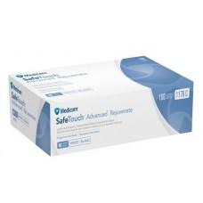 Перчатки нитриловые голубые неопудренные Medicom 100 шт (50 пар) размер M