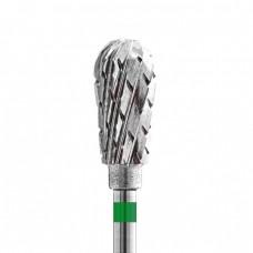 Фреза ТВС с крупной крестообразной нарезкой (зелёная насечка) №41646К