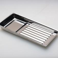 Лоток металлический для стерилизации инструмента ЛМ-01