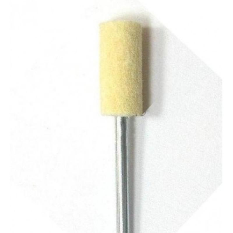 Насадка полировщик натуральный фетровый барабан MFBM01