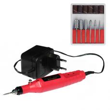 Фрезер ручка с насадками MPS-08, 18 об/мин