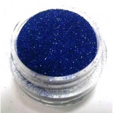 Глиттер (блёстка) мелкий синий GВ, 0,1 мм
