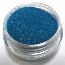 Глиттер (блёстка) мелкий голубой голографик GG11, 0,1 мм