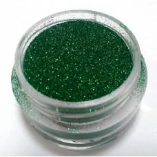 Глиттер (блёстка) мелкий зеленый GG, 0,1 мм