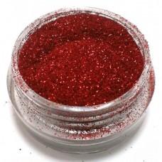 Глиттер (блёстка) мелкий красный GR, 0,1 мм