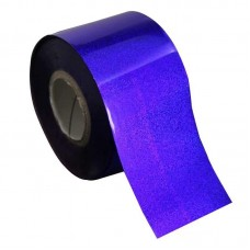 Фольга для ногтей глубокий синий 3Д, 1 м., F28