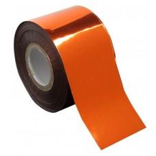 Фольга для литья оранжевая 1м., F10