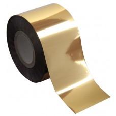 Фольга для литья отрывная золото глянец 1м., F08